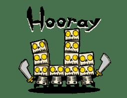 <J-Stickers>Animated TTG monsters! (E) sticker #12222628