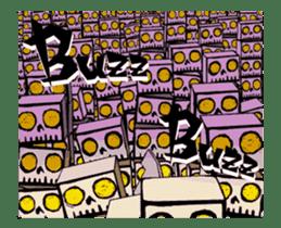 <J-Stickers>Animated TTG monsters! (E) sticker #12222631