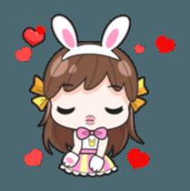 Melon rabbit need some one (DukDik) + sticker #12223758