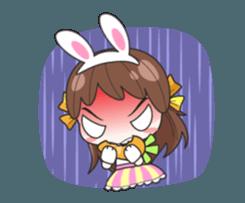 Melon rabbit need some one (DukDik) + sticker #12223762