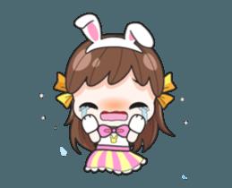 Melon rabbit need some one (DukDik) + sticker #12223764