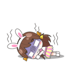 Melon rabbit need some one (DukDik) + sticker #12223766