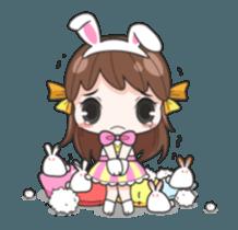 Melon rabbit need some one (DukDik) + sticker #12223769