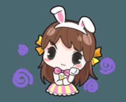 Melon rabbit need some one (DukDik) + sticker #12223775