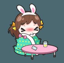 Melon rabbit need some one (DukDik) + sticker #12223778