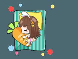 Melon rabbit need some one (DukDik) + sticker #12223781