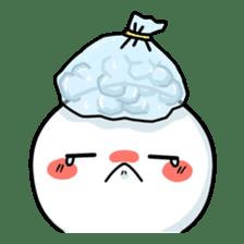 Bubble boy sticker #12228802