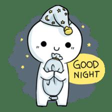 Bubble boy sticker #12228810