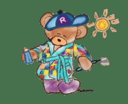 Hello Rossy Bears sticker #12238578
