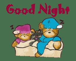 Hello Rossy Bears sticker #12238582