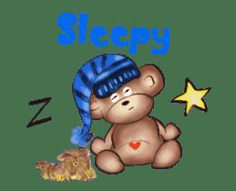 Hello Rossy Bears sticker #12238584