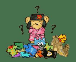 Hello Rossy Bears sticker #12238587