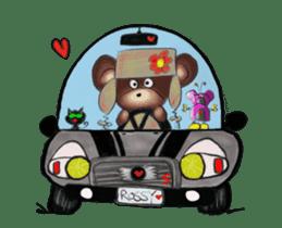 Hello Rossy Bears sticker #12238589