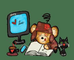 Hello Rossy Bears sticker #12238590