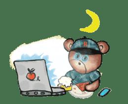 Hello Rossy Bears sticker #12238591