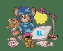 Hello Rossy Bears sticker #12238593