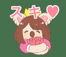 Koala Princess sticker #12248910