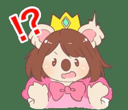 Koala Princess sticker #12248911