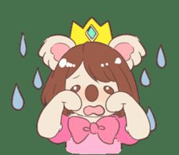Koala Princess sticker #12248912