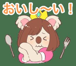 Koala Princess sticker #12248922