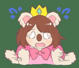 Koala Princess sticker #12248931