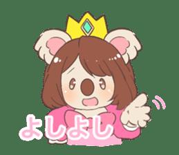 Koala Princess sticker #12248935