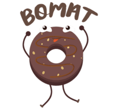 Donat unyu sticker #12254232