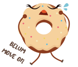 Donat unyu sticker #12254238