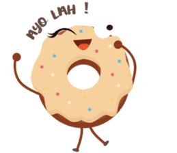 Donat unyu sticker #12254239