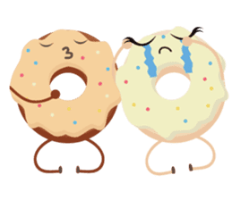 Donat unyu sticker #12254241
