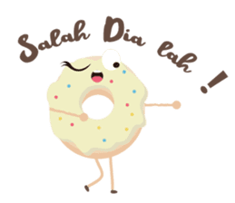 Donat unyu sticker #12254245