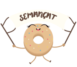 Donat unyu sticker #12254246