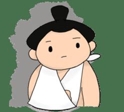 kawaii sumo wrestler sticker sticker #12254862