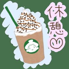 kawaii sumo wrestler sticker sticker #12254869