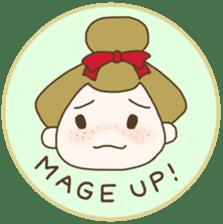 kawaii sumo wrestler sticker sticker #12254870