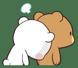 Bear Couple : Milk & Mocha sticker #12265828