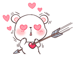 Bear Couple : Milk & Mocha sticker #12265834