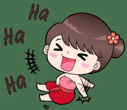 Boobib Retro Girl sticker #12266682