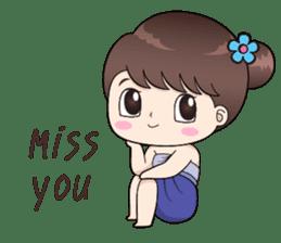 Boobib Retro Girl sticker #12266683