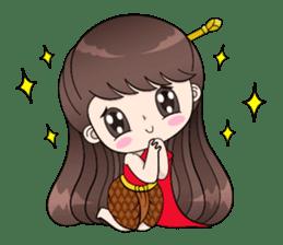 Boobib Retro Girl sticker #12266694