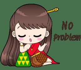 Boobib Retro Girl sticker #12266705
