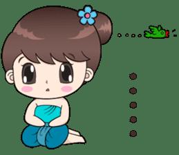 Boobib Retro Girl sticker #12266716