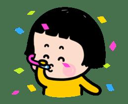 Mobile Girl, MiM - v2 sticker #12268865