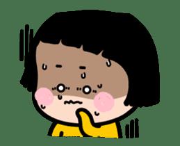 Mobile Girl, MiM - v2 sticker #12268878