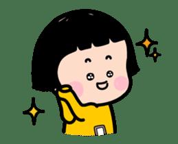 Mobile Girl, MiM - v2 sticker #12268879