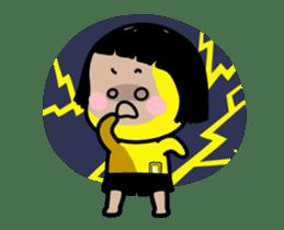 Mobile Girl, MiM - v2 sticker #12268880