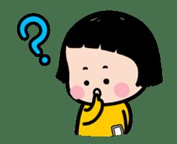 Mobile Girl, MiM - v2 sticker #12268881