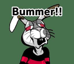 Hell's Rabbit (ENG) sticker #12272096