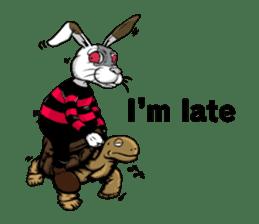 Hell's Rabbit (ENG) sticker #12272104