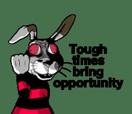 Hell's Rabbit (ENG) sticker #12272123
